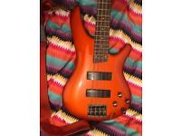 Ibanez SR300 Bass Guitar Roadster Orange