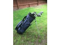 Donnay Cavity Back Golf Clubs & Bag for sale - full set