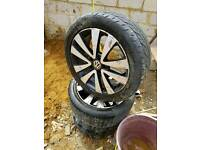 "Genuine 17"" VW Golf GTD ALLOYS"