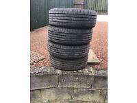 Continetal tyres little used
