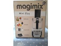 Brand new Magimix Mini Plus Auto – cream. Never used. Guarantee in box. Perfect for smaller kitchens