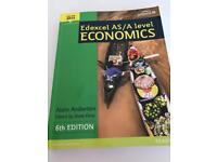 A level Edexcel Economics textbook, used for sale  London