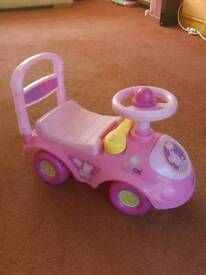 Peppa Pig ride along