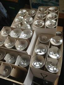 90 Ikea Champagne Glasses , 13 Ikea flower vases and 4 Ikea Salad bowls