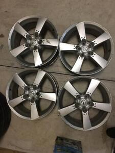 Mags 18 pouces Mazda.  5x114.3