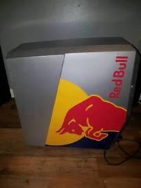 Red Bull Slim Countertop Eco Cooler/Fridge