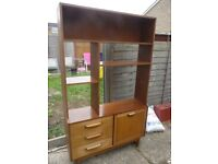 Teak wall unit by Stateroom of Stonehill , 1950's