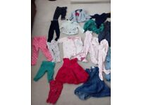 Baby girl clothes 0 - 12 months
