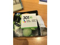HP 301XL Tri-Colour Printer Ink