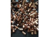 Joblot copper pipe fittings