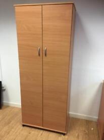 Modern beech wood wardrobe