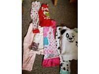 Bundle girls pyjamas