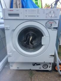 **BOSCH**LOGIXX 7**INTEGRATED**WASHING MACHINE 7 KG**ENERGY RATING: A+**COLLECTION\DELIVERY**