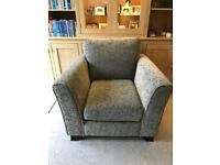 Grey Living Room Armchair