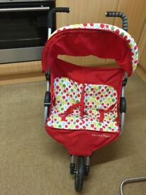 MAMAS & PAPAS DOUBLE TOY PUSHCHAIR