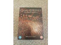 Game of Thrones series 1-4 boxset