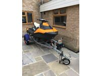 Sea Doo Spark 3up orange 90hp purchased new July 2015 only 35 hours use on family yearly holidays
