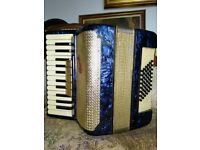 Royal Standard blue pearl accordion £120
