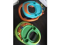 Baby walkers (Chicco) 1 for 20 pound or 2 for 35. Condition used