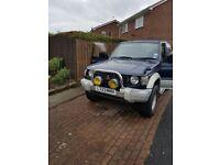 Pajero 2.5 auto 1994 66000 miles only excellent driver mot Feb 19