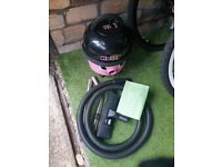 Numatic Hetty Bagged Cylinder Vacuum Cleaner,Turboflo, SUPER POWERFULL GOOD CONDITION