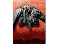 Retro style biker jacket unsex