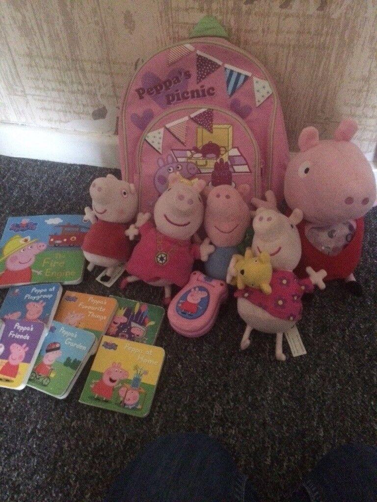 Peppa pig items