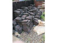 Reclaimed Original Rosemary Roof Tiles for Sale used