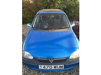 Vauxhall corsa 1.2 16v 1999