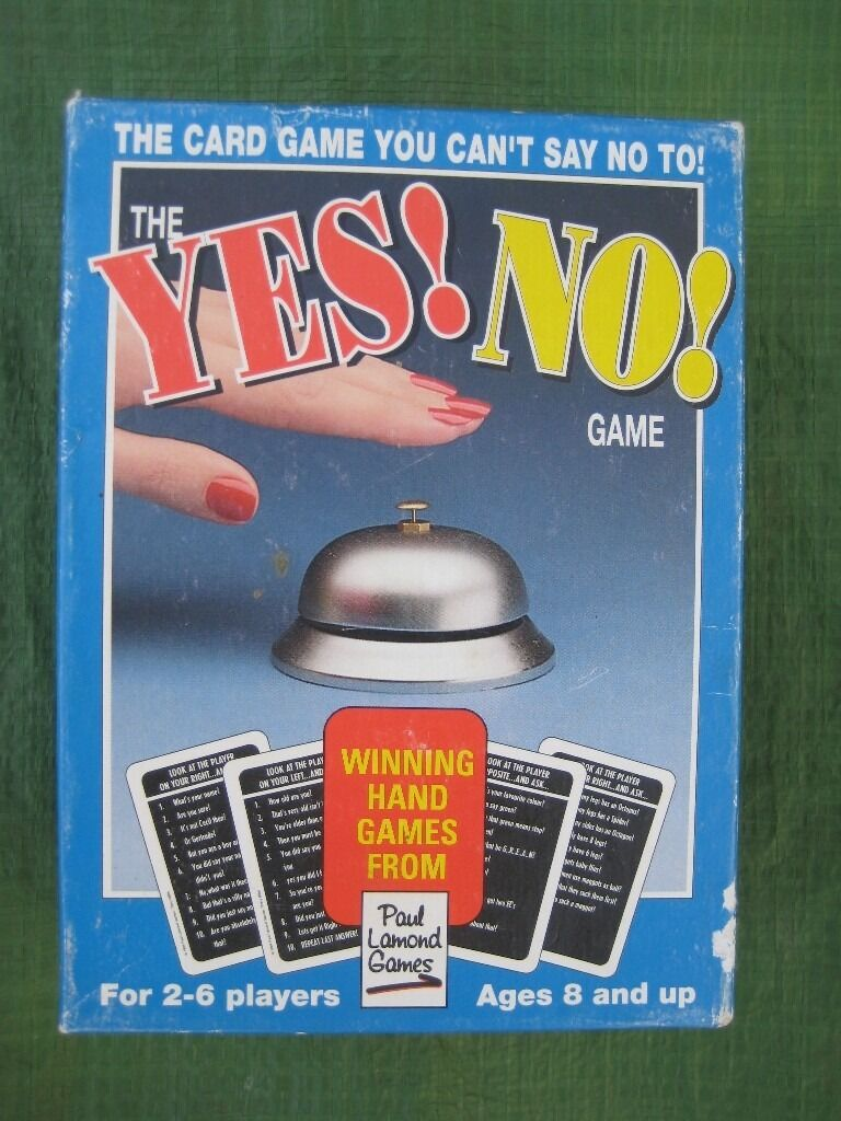 YES/NO Family Card Game by Paul Lamond Games for £3.00