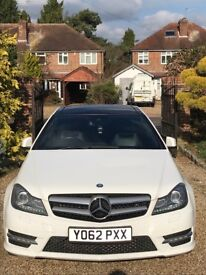 Mercedes C220 Coupe w/ AMG Styling + Full Manufacturer Service History
