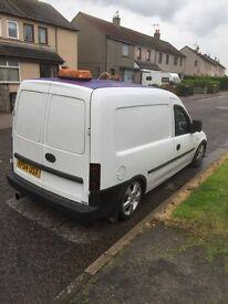 Vauxhall combo van modified