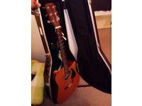 Fender dg-14sce with hardcase