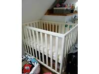 Spacesaver cot and mattresses