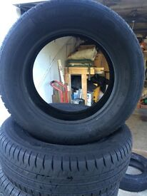 Pair of Michelin energy tyres 195/65/15