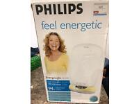 Phillips Natural Energy Bright Light Lamp with Timer BOXED Sunlight