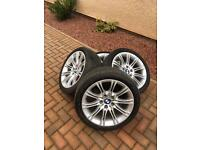 BMW MV2 Alloys with run flat tyres- E60, E61