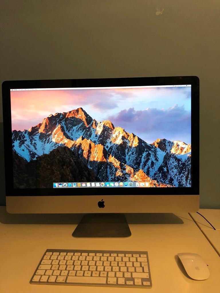 "Apple iMac 27"" 2.5GHz 16GB RAM"