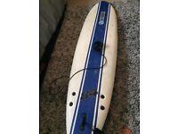 CBC 7ft beginners soft deck surfboard