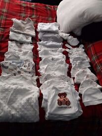 HUGE UNISEX BABY BUNDLE 0-3 MONTHS