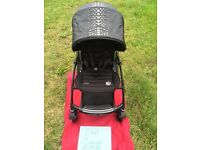 Bugaboo Bee3 Limited Edition Rock by Diesel + Extras