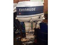 EVINRUDE 35HP LONGSHAFT OUTBOARD ENGINE