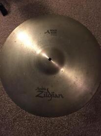 Zildjian ride cymbal