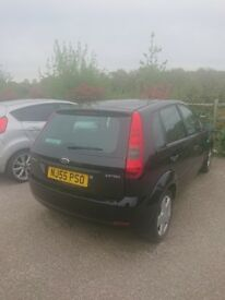 Black Ford Fiesta 1.4l Petrol 55 Reg for Parts - Pick-up/Tow Only