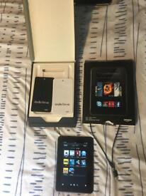 """Kindle Fire Amazon HD7"""" 16gb Bluetooth Tablet with box"""