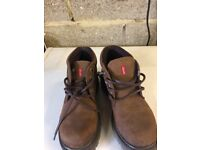 Levi boots dark brown as new