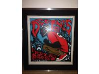 Deftones Limited Edition Poster Print. Professionally framed and mounted