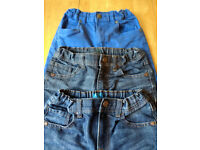 Jeans (3 pairs) boys age 8-9 years