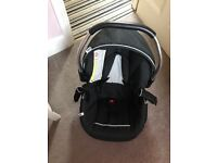 Changing Table, Baby Car Seat and Moses Basket. All in excellent condition