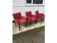 3 x chairs £5 each